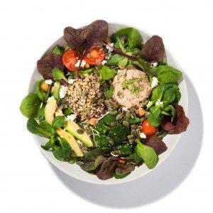 Salat Humus